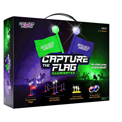 Capture The Flag Game Illuminated - Outdoor Activity for Teen Boys and...