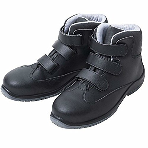 Eurosell Profi PU Hochschuh Arbeit Arbeits Schuhe Arbeitsschuhe Arbeitshochschuh - Klettverschluss (44)