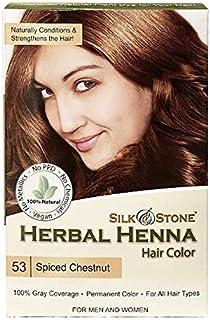 Herbal Henna Hair Color #53: Spiced Chestnut