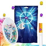 CAPSULE AROMATICHE Capsule fai-da-te esplosione di perle a sfera Capsula di sigaretta Filtro a clic Aroma Card Aroma Infusion Flavour, per Card per sigarette Aroma Card Sigarette (G-mischen-100)