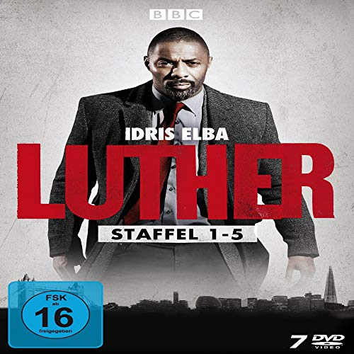 Luther - Die komplette Serie (Staffel 1-5) [7 DVDs]