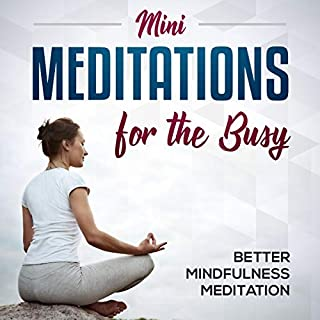 Mini-Meditations for the Busy cover art