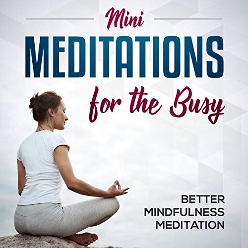 Mini-Meditations for the Busy  By  cover art