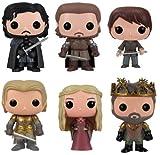 Funko Juego de 6 figuras de vinilo POP Game of Thrones Series 2...