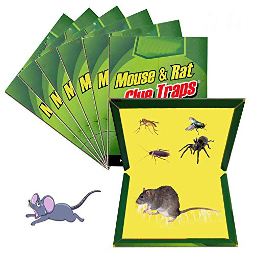 Crispy™ Mouse Glue Pad - Kill Mouse Without Poisons (Pad Colour/Design May Very) Set of 2