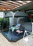 enoche Pavillon für Festivals, Garten und Camping, automatisches Pop-Up-Strandzelt, Eventzelt mit Sonnenschutz LSF 50+