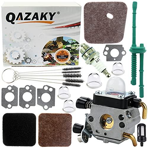 QAZAKY Reemplazo para carburador Stihl FC55 FC75 FC85 FS310 FS38 FS45 FS46 FS46C FS55 FS55C FS74 FS75 FS76 FS80 FS80R FS85 HL45 HL75 HS45 HS75 HS80 HS85 HT70 HT75 KM55 KM55C KM55R KM80 KM85 SP85 Carb