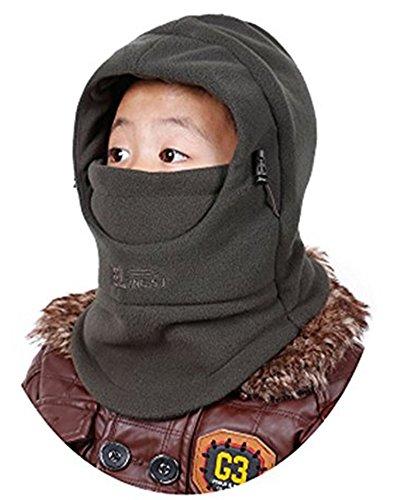 ZZLAY Kinder Balaclavas Hut Dicke Thermische Winddichte Ski Radfahren Gesichtsmaske Caps Kapuzenabdeckung Verstellbare Mütze