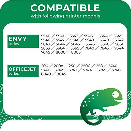 COLORETTO Cartucho de Tinta Remanufacturado para HP 62XL 62 XL (1 Negro,1 Tricolor) Compatible con Officejet 200 250 Envy 5544 5540 5545 5546 5640 5642 5665 5742 5744 7640 7644 7645 8000 Impresoras