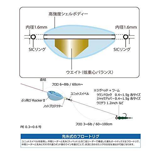 ArukazikJapan(アルカジックジャパン)フロートブッ飛ビロッカーIILSSアクアブルー25028