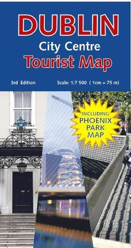 Dublin City Centre Tourist Map (Dublin Series)