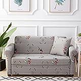 YQ WHJB Antideslizante Sofa slipcover elástico,Tramo de surefit Fundas de sofá Cubierta 1 Pieza Protector de los Muebles para 1 2 3 4 Cojines sofá-M Silla