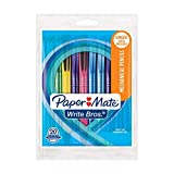 Paper Mate 1787476 Write Bros #2 Mechanical Pencils 0.7mm, 20 Count Pack