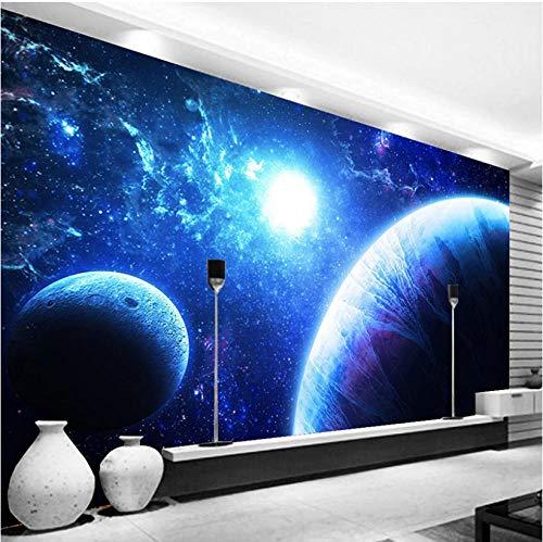 Fotobehang Fotobehang Thuis Aangepaste 3D Fotobehang Mooie Sterrenhemel Universum Aarde Grote Mural Woonkamer Slaapkamer Achtergrond Muur Papieren Home Decor