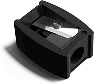 HAUS LABORATORIES By Lady Gaga: PENCIL SHARPENER   Black Cosmetics Sharpener for Eyeliners and Lip Liners, Includes Blade ...