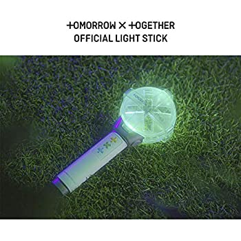 Tomorrow x Together TXT Lightstick officiel + une carte photo TXT aléatoire en acrylique