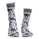 Wigglesteps Herren Socken GENTLE BEAR, one Size (41-46)