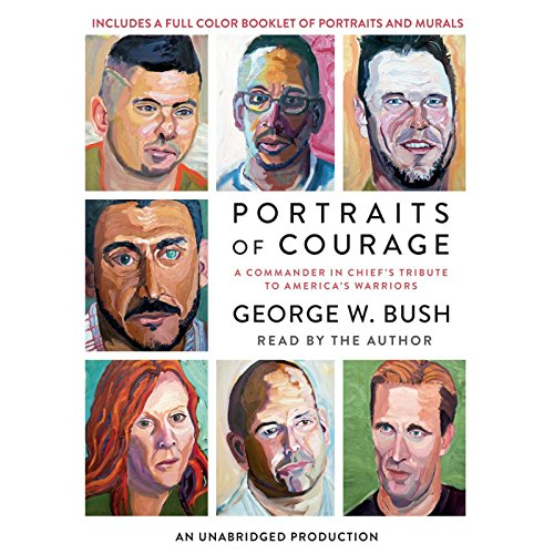 Portraits of Courage audiobook cover art