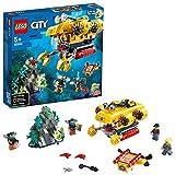 LEGO60264CityOcéano:SubmarinodeExploración,SetdeConstrucciónparaNiños+5añosconDronSubacuáticoyMiniFiguras