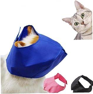 Gato Con Los Ojos Vendados Baño Del Gato Del Baño Belleza De Ojos Máscara De Bits Máscara Cubierta Protectora Para Gatos M...