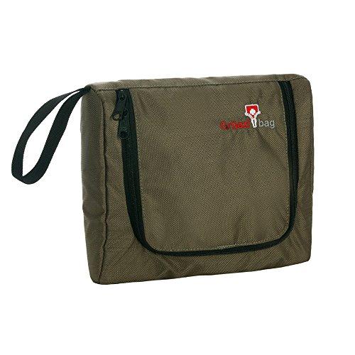 Grüezi Bag Trousse de Toilette 23 x 20 x 2 cm Marron - Marron