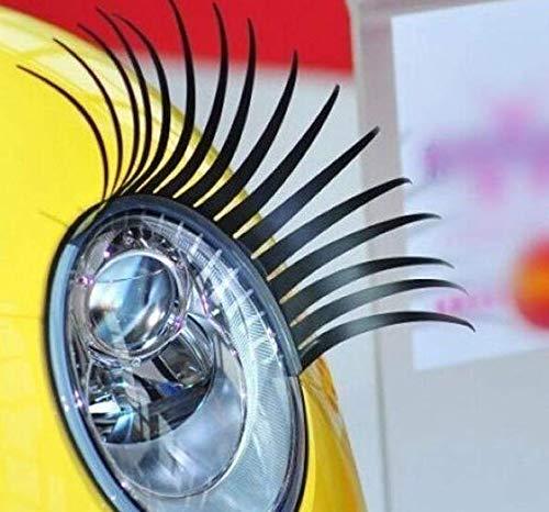 2AINTIMO falsche wimpern autoscheinwerfern für Lichter (1 Paar)