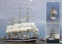 Segelschulschiffe aus aller Welt (Wandkalender 2022 DIN A3 quer): Segler auf Nord- und Ostsee fotografiert. (Monatskalender, 14 Seiten )