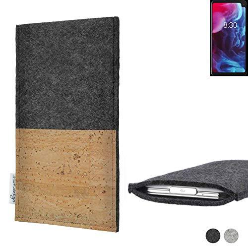 flat.design Handy Tasche Evora für Archos Oxygen 63XL Kartenfach Kork Schutz Hülle passexakt handgefertigt fair