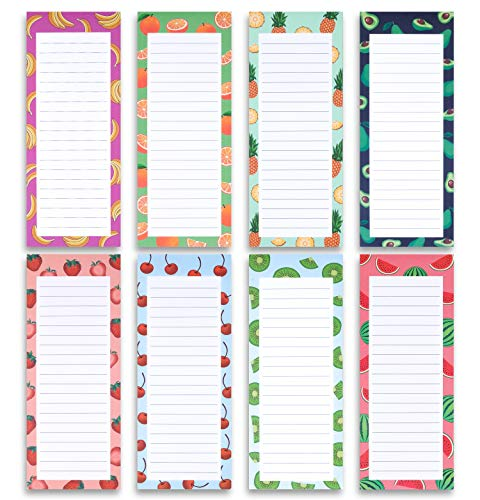 2. Pack of 8 Magnetic Notepads