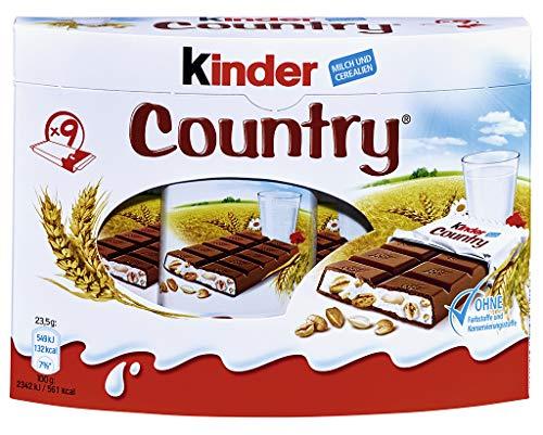 kinder Country Vorratspack, 6er Pack (6 x 211.5 g Packung)
