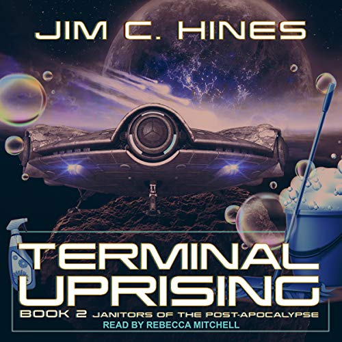 Terminal Uprising by Jim C. Hines science fiction and fantasy book and audiobook reviews