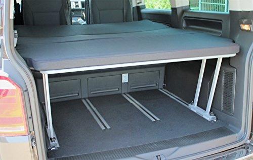 Bus-Boxx T5/T6 Multivan Schlafpacket - Multiflexboard + T-Stück + Matratze 3teilig RG50/50