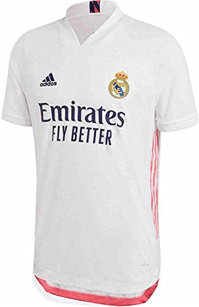 Real Madrid Ranking TOP14 Home Men's Authentic 21 Soccer 2020 Jersey- Seasonal Wrap Introduction
