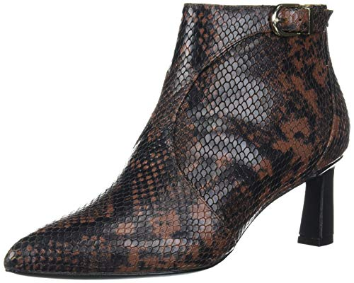 Joie Women's Rawly Ankle Boot, Rosewood Python, 9 Medium US