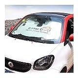 para Smart Fortwo Forfour 453 451 450 Parabrisas del Coche Parasol Crossblade Roadster Cabrio City City-Coupe Ventana Delantera De La Sombrilla