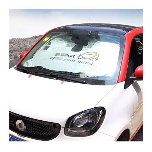 XHSM para Smart Fortwo Forfour 453 451 450 Parabrisas del Coche Parasol Crossblade Roadster Cabrio City City-Coupe Ventana Delantera de la sombrilla Decoración Coche