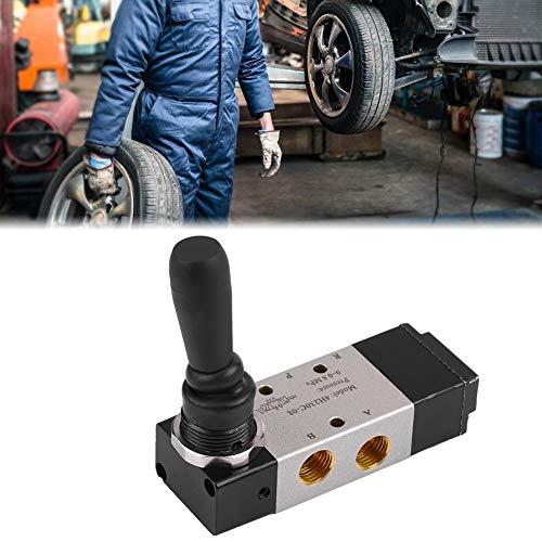 Válvula de aire con control manual manual, Interruptor de llanta Cambiador de llantas Ayuda Válvula de aire de control del brazo auxiliar, Válvula de mano Válvula solenoide eléctrica Aleación de alumi