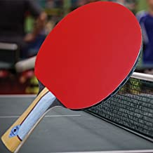 Gambler Custom Professional Table Tennis Paddle with Wingwood IM8 Carbon Blade and Big Gun Rubber plus Case