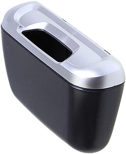 lowest Car Bin Trash Box Rubbish lowest Can Garbage Dust 2021 Case CZLJT-01 (Silver Cover) online sale