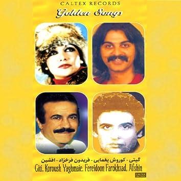 50 Golden Songs of Giti, Afshin, Kourosh Yaghmaee & Fereydoon Farrokhzad - Persian Music
