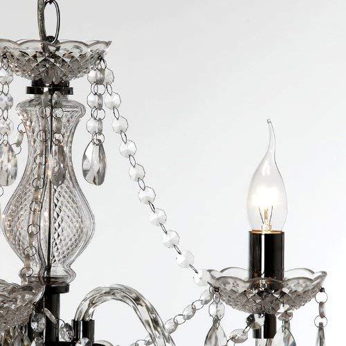 Reality Luster - Lámpara colgante de 3 luces. Necesarias 3 Bombillas E14 de...