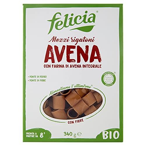 Felicia Mezzi Rigatoni Avena, 340g