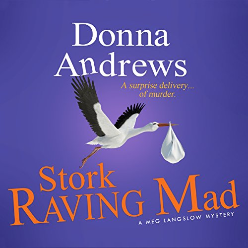 Stork Raving Mad audiobook cover art