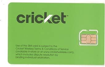 Cricket 4G Smart Phone Micro SIM Card