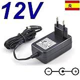 Cargador Corriente 12V Reemplazo Televisor TV Alba ALCD15TVXI AMKDVD19 AMKDVD22 Recambio Replacement