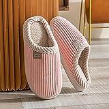 Kirin-1 Zapatillas de casa para Mujer Verano,Invierno Interior de Invierno de Las Mujeres de los Deslizadores del algodón del Nuevo estilo-41-42_Q
