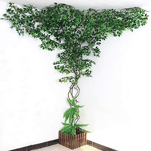 DMZH Ficus Baum, Kunstpflanze, Geeignet Für Eine Vielzahl Von Gewerbegebieten Und Büroflächen