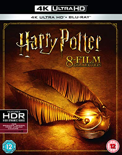 Harry Potter Complete Collection (EN) [8xBlu-Ray 4K]+[8xBlu-Ray]