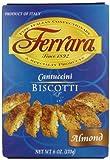 Ferrara Cantuccini Biscotti, Almond, 6 Ounce