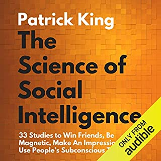 The Science of Social Intelligence: audiobook cover art